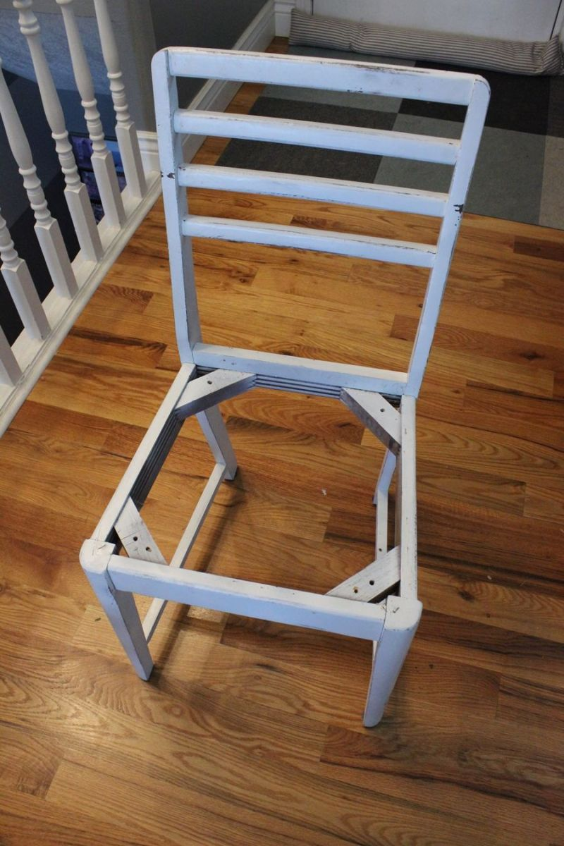 DIY Level Beginner to Intermediate - chair makeover
