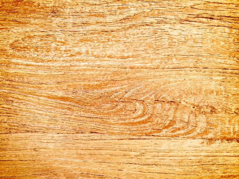 Warm orange wooden texture. Abstract wood background stock photo