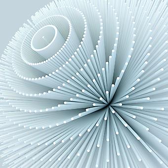 Абстрактная 3D форма. (Номер по каталогу: 25020)