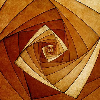Спиралевидный магический 3D квадрат. (Номер по каталогу: 25022)