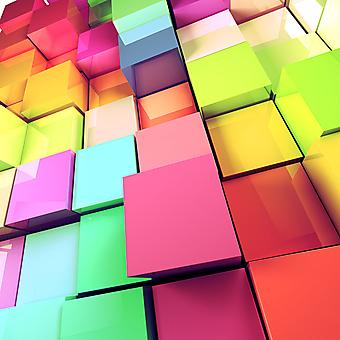 Цветные 3D кубики. (Номер по каталогу: 25023)