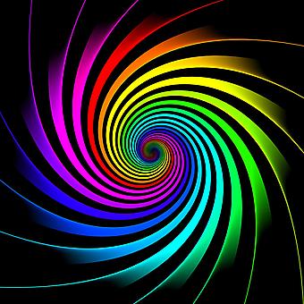 Гипнотическая 3D радуга. (Номер по каталогу: 25039)