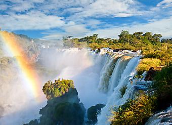 Водопады Игуасу. (Код изображения: 01015)