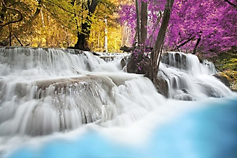 Застывший водопад Хуай Мае Камин (Каталог номер: 01038)