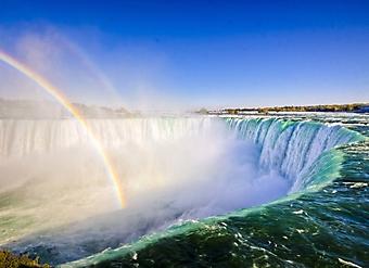 Радуга над Ниагарским водопадом (Каталог номер: 01043)