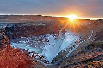Водопад Гюдльфосс, Исландия (Каталог номер: 01045)