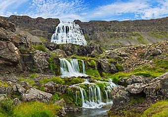 Водопад Диньянди, Исландия (Каталог номер: 01058)