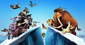 Битва за орешек. Ледниковый период. (Код изображения: 10231)