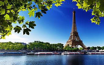 Эйфелева башня. (Код изображения: 16002)