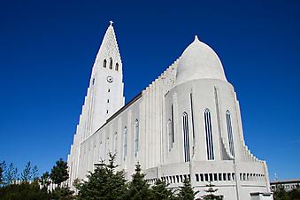 Церковь в Рейкьявике. (Код изображения: 16012)