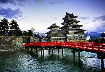 Мацумото Замок, Япония. (Код изображения: 16024)