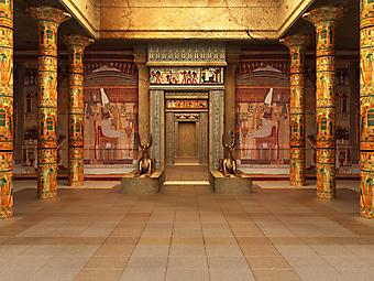 Гробницы фараона. (Код изображения: 16028)