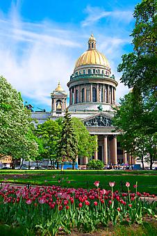 Исаакиевский собор в Санкт-Петербурге. (Код изображения: 16042)