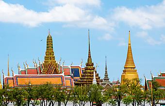 Королевский дворец. Бангкок (Код изображения: 16058)
