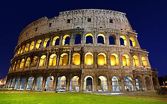 Ночной Колизей. Рим (Код изображения: 16065)