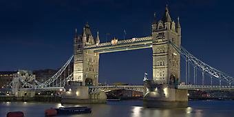 Панорама на Тауэрский мост. Лондон (Код изображения: 16068)