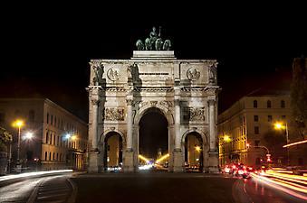 Триумфальная арка. Мюнхен (Код изображения: 16070)