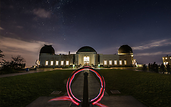Обсерватория Гриффита. Лос-Анджелес (Код изображения: 16071)
