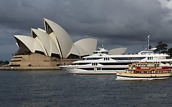 Сиднейский оперный театр. Австралия. (Код изображения: 16076)