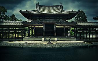 Храм Феникса. Киото (Код изображения: 16081)