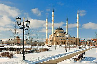 Мечеть Ахмада Кадырова. Чечня (Код изображения: 16083)