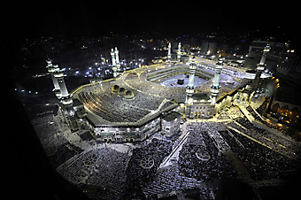 Мечеть аль-Харам. Мекка (Код изображения: 16087)