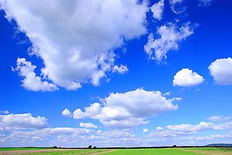 Голубое небо. (Код изображения: 19011)