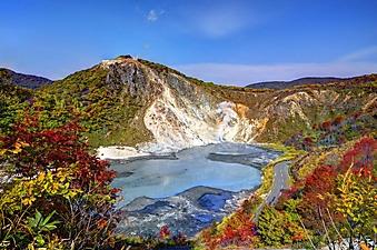 Горное озеро на острове Хаккайдо (Каталог номер: 19085)