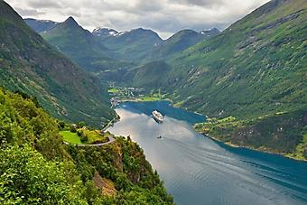 Норвежский пейзаж (Каталог номер: 19100)