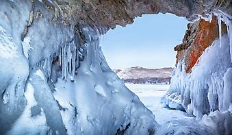 Ледяная пещера Байкала (Каталог номер: 19125)
