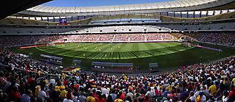 Панорама на стадион Cape Town Stadium. (Код изображения: 20023)