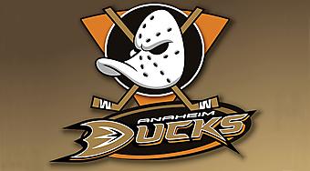 Логотип хоккейной команды Анахайм Дакс (Anaheim Ducks). (Код изображения: 20027)
