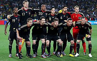 Групповая фотография футбольной сборной Германии, Чемпионат мира. (Код изображения: 20040)
