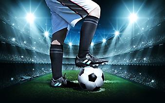 Футболист на стадионе (Каталог номер: 20132)