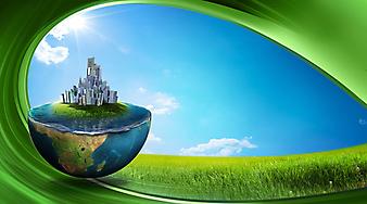 Зеленая земля. (Код изображения: 21001)