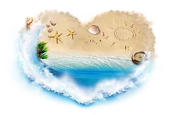Я люблю пляж. (Код изображения: 21012)