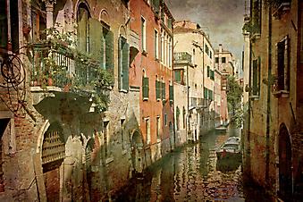Открытки из Италии. (Код изображения: 21018)