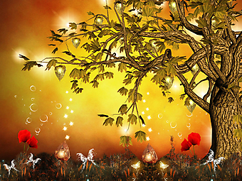 Заколдованное дерево. (Код изображения: 21030)