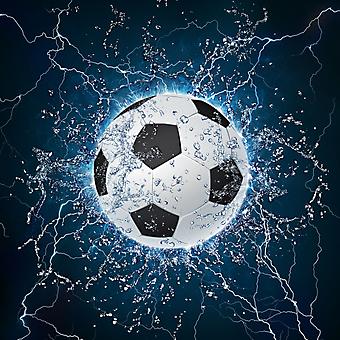 Футбольный Мяч. (Код изображения: 21050)