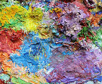 Фон из масляных красок (Каталог номер: 21074)
