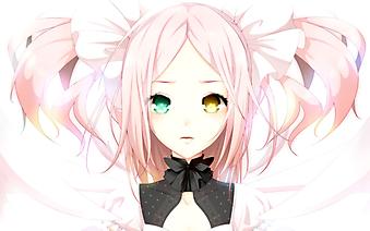 Девочка с разноцветными глазами. (Код изображения: 23062)