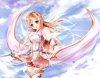 Персонаж манги Мастера меча онлайн,Sword Art Online. (Код изображения: 23201)