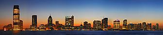 Панорама Нью-Джерси (Jersey). (Код изображения: 02092)