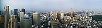 Центр Токио, Япония. (Код изображения: 02095)