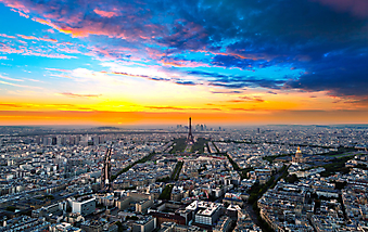 Париж в лучах закатного солнца код