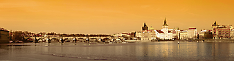 Панорама на старый город. Прага. (Код изображения: 02272)