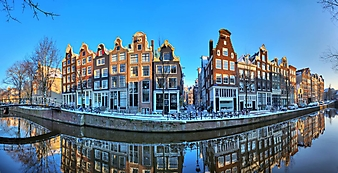 Морозное утро в Амстердаме (Каталог номер: 02296)