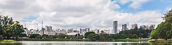 Фотообои парк Ибирапуэра, Сан-Паулу (Каталог номер: 02373)