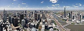Панорама города, Мельбурн (Каталог номер: 02386)