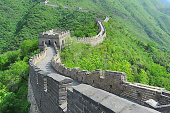 Великая китайская Стена. (Код изображения: 03009)